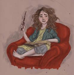 Hermione by joshcmartin