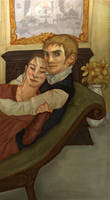 Mr and Mrs Wentworth by joshcmartin