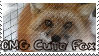 OMG Cute Fox STAMP by verybluebird
