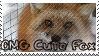 OMG Cute Fox STAMP by verybluebird