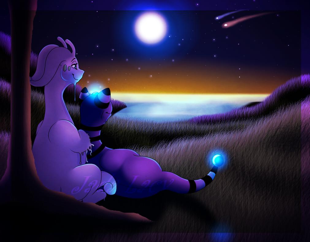 BoltXGussy - Stars Align... by Emeraldarcbreon