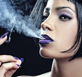 purple forever by Benegesseritt