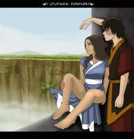 Zutara here together by Kuro-Akumako