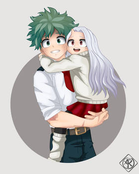 MHA Deku and Eri - 01