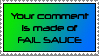 Phail Sauce Stamp by dazedgumball