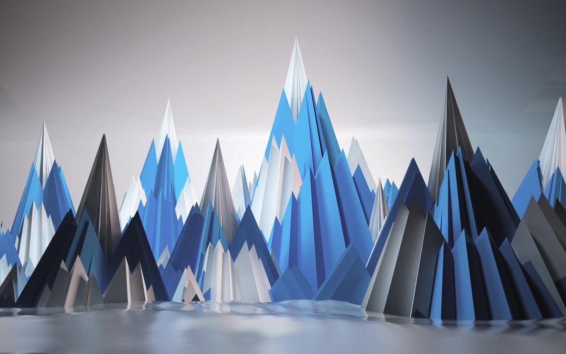 3d mountain artworkrimax420 on deviantart