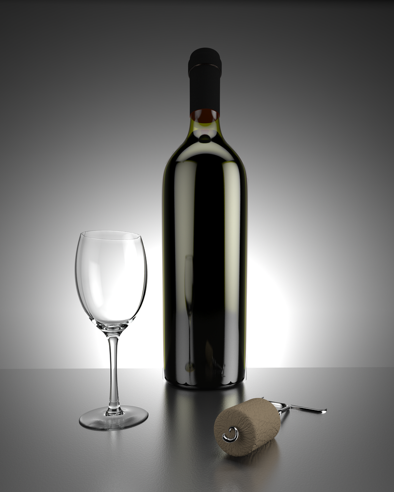 Wine Bottle by rimax420 on DeviantArt