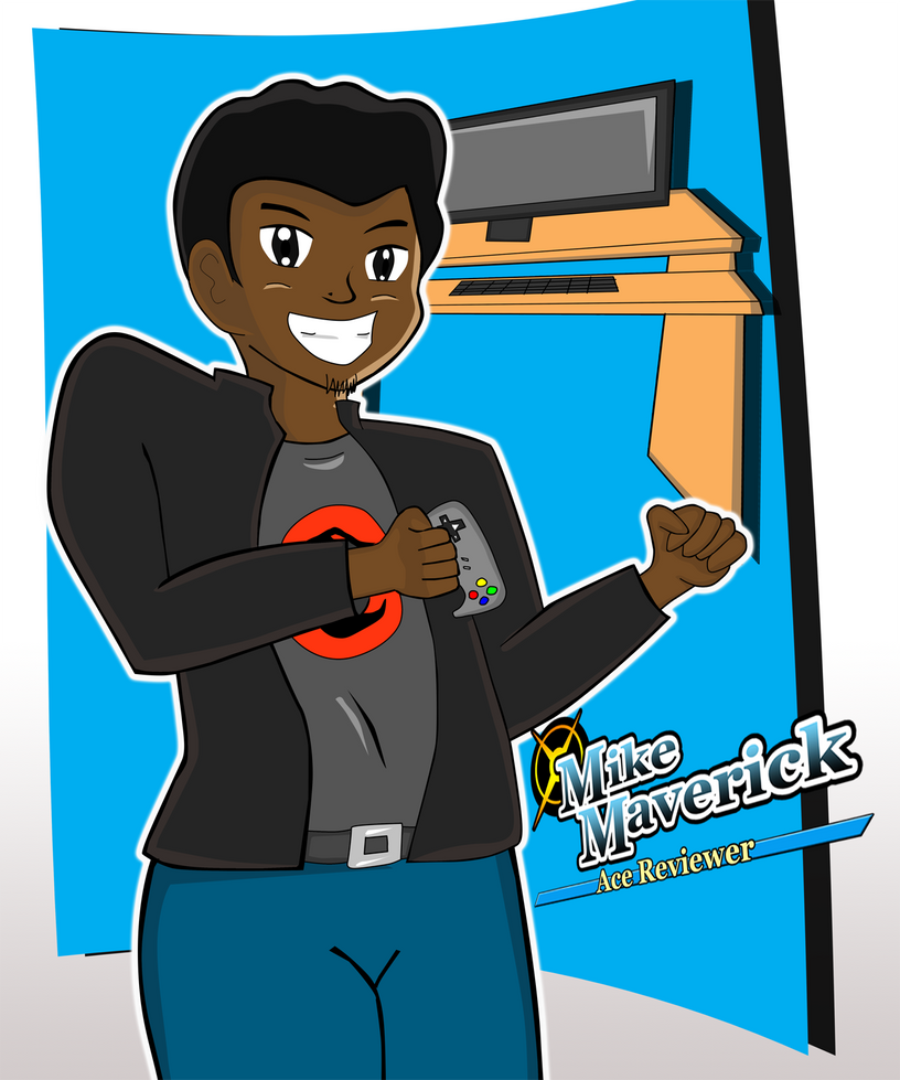 New Mike Maverick Blip poster by MikeMaverick