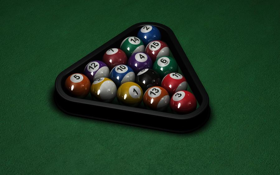 Pool balls by T-2-M