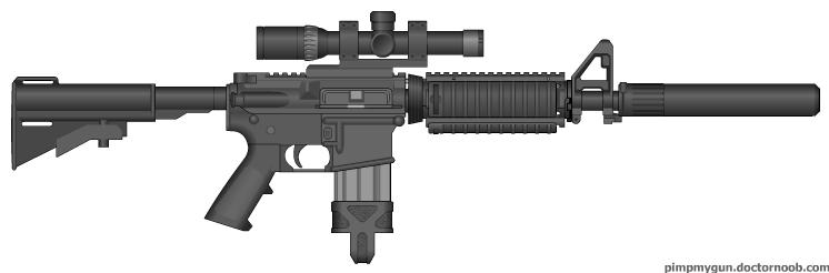 M4 Sniper MK.2 by Kweonza