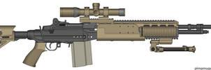 M14 EBR Mk.3 by Kweonza