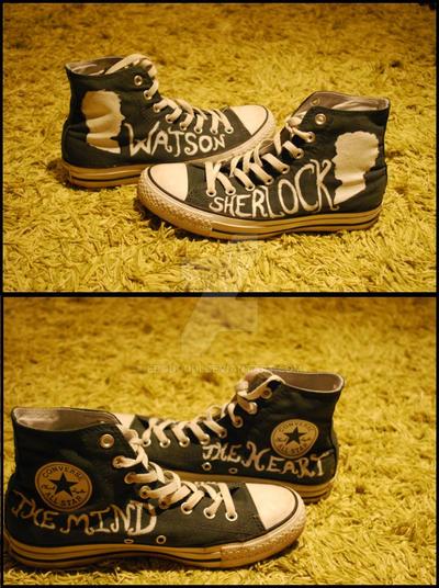 Sherlock shoes by edoddodi