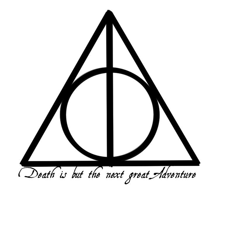 Deathly Hallows Tattoo Design 1 by isyth on DeviantArt