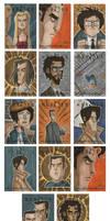 Heroes Sketch Cards 2