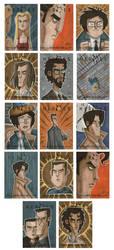 Heroes Sketch Cards 2 by OtisFrampton