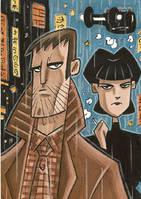 Blade Runner by OtisFrampton