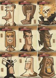 Marvel Masterpieces II 4 by OtisFrampton