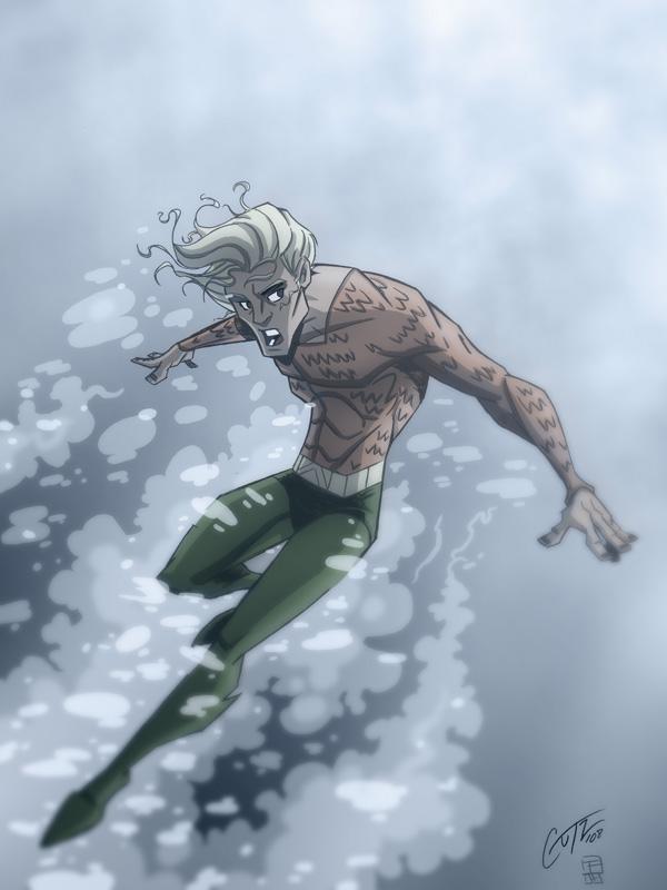 Aquaman by OtisFrampton