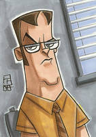 Dwight K Schrute by OtisFrampton