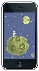 iPhone Painting 2 by OtisFrampton