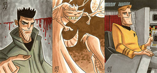 Grinning Scoundrels by OtisFrampton