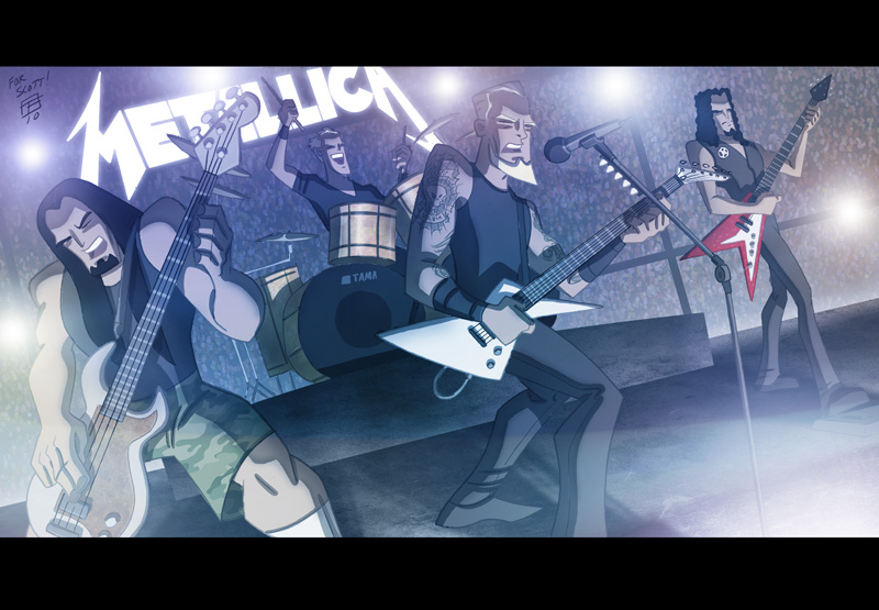 Metallica by OtisFrampton