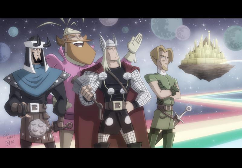Asgardians by OtisFrampton