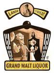 Grand Malt Liquor Beer Label