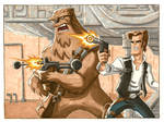 Han and Chewie