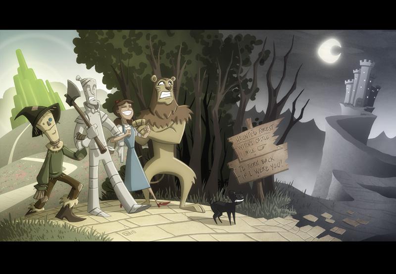 Oz by OtisFrampton