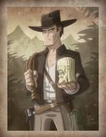 Indiana Jones by OtisFrampton