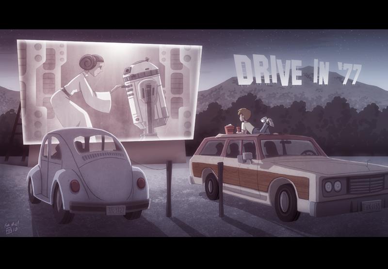 Drive-In '77 by OtisFrampton