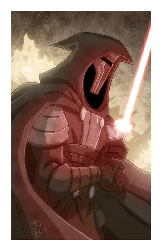 Darth Revan by OtisFrampton