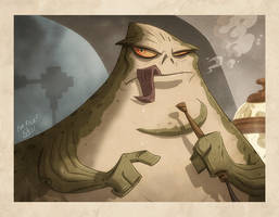 Jabba the Hutt by OtisFrampton