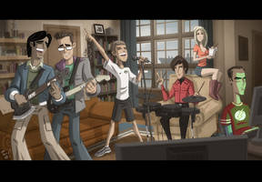 Big Rock Bang Band Theory by OtisFrampton