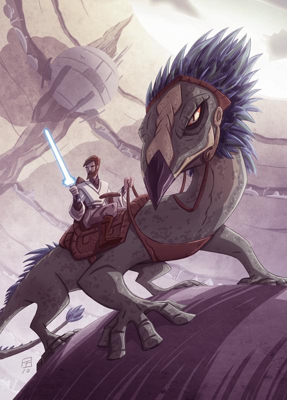 Star Wars Galaxy 6 Base Card by OtisFrampton