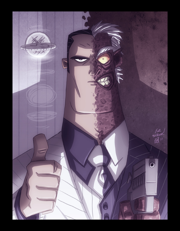 Two-Face by OtisFrampton