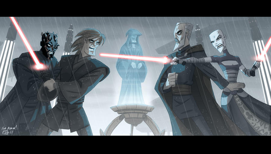Sith Spat by OtisFrampton