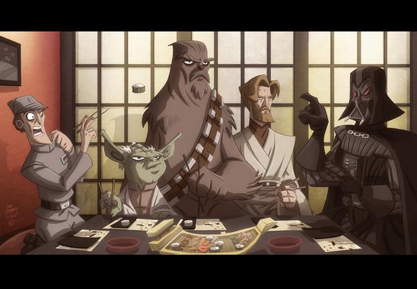 Star Wars Sushi by OtisFrampton