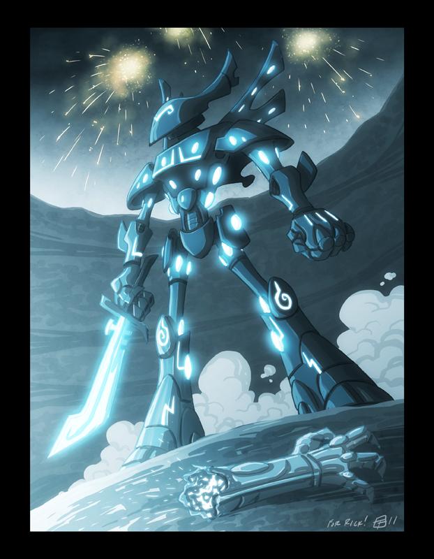 TRON Eldar Wraithlord