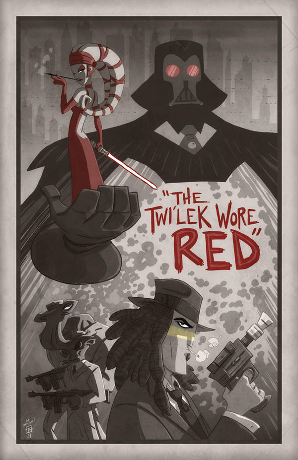The Twi'lek Wore Red by OtisFrampton