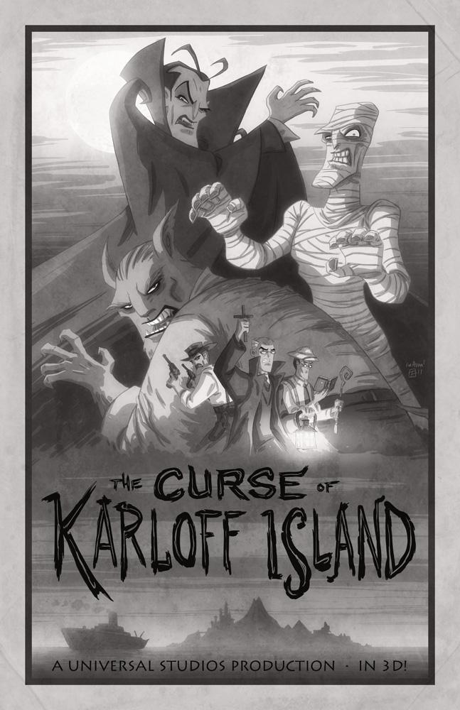 The Curse of Karloff Island by OtisFrampton