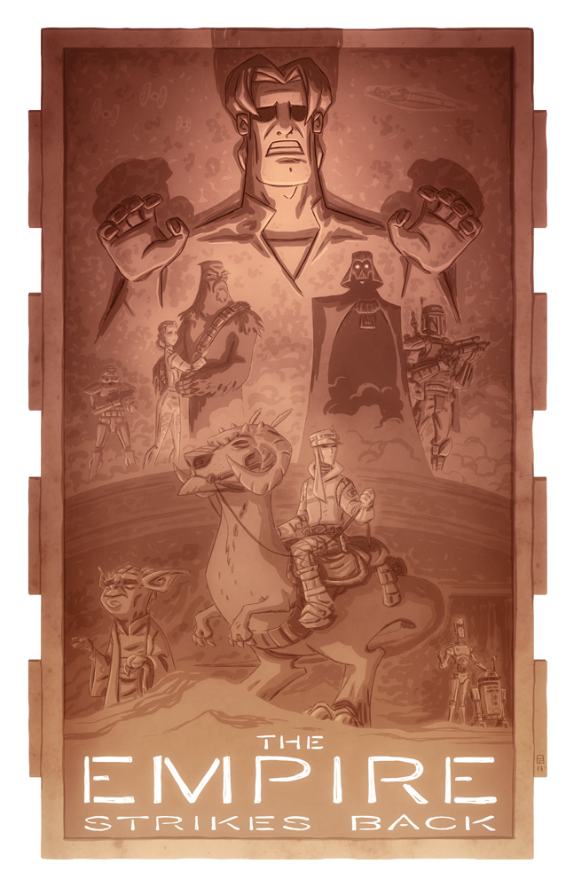 The Empire Strikes Back by OtisFrampton
