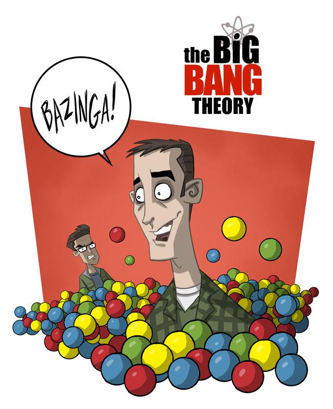 The Big Bang Theory 13 by OtisFrampton