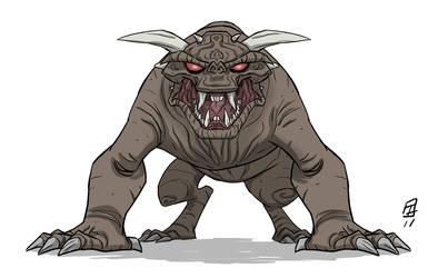HISHE Ghostbusters Dog by OtisFrampton