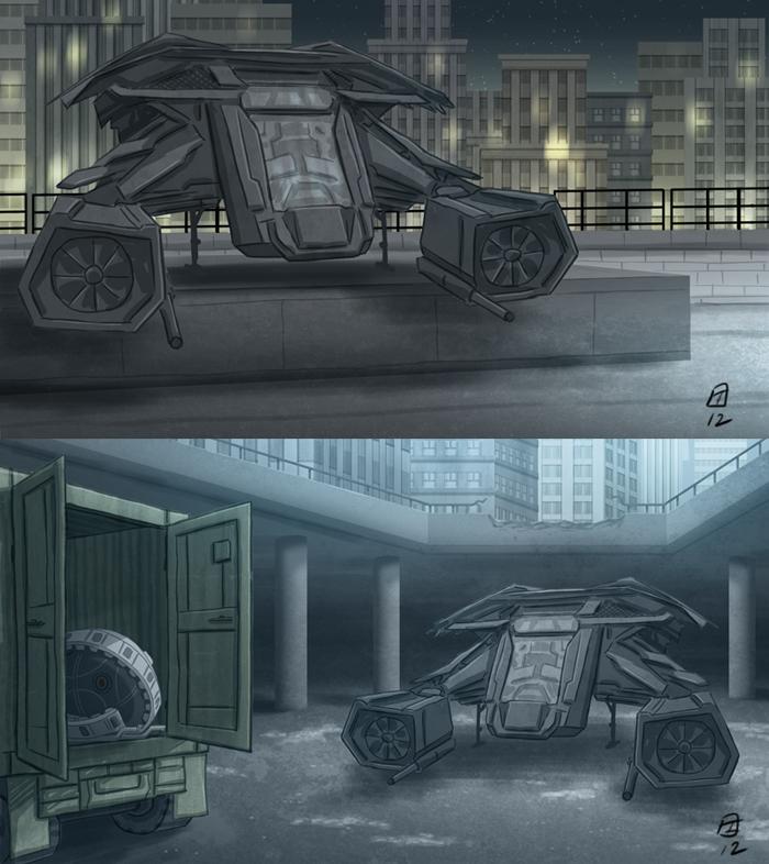 The Dark Knight Rises HISHE Background by OtisFrampton