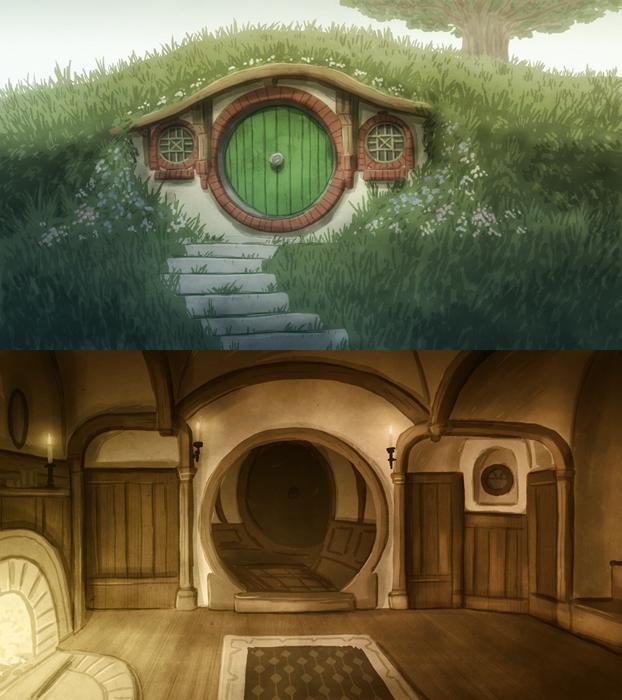 The Hobbit 1: HISHE Background by OtisFrampton