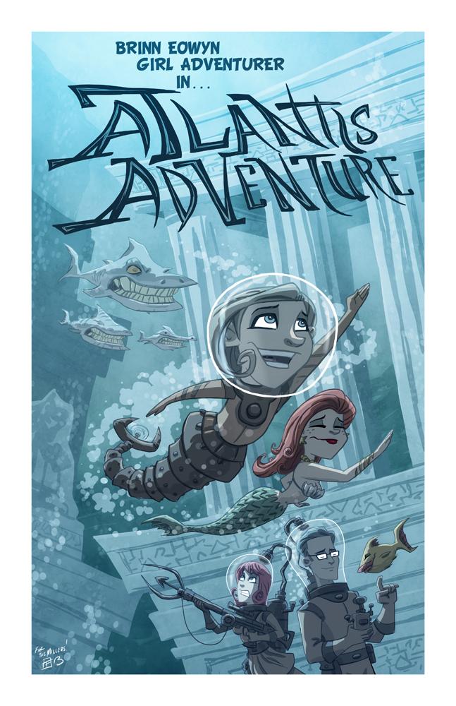 Atlantis Adventure by OtisFrampton