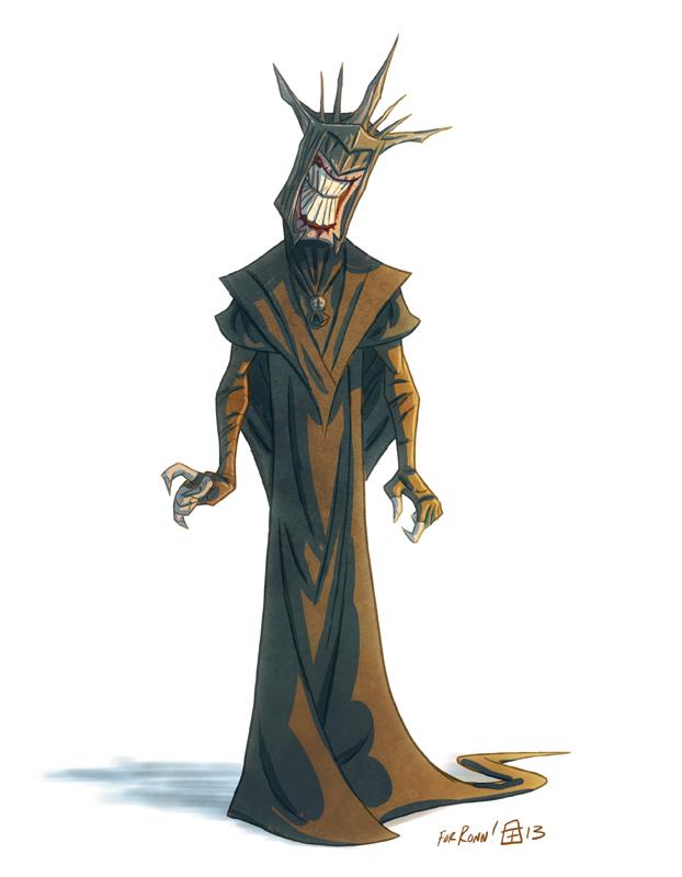 Mouth of Sauron by OtisFrampton