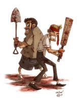 Shaun of the Dead by OtisFrampton